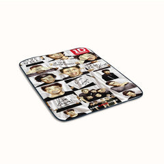 Funny 1D One Direction Collage Fleece Blanket