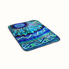 Galaxy Aztec Mandala Fleece Blanket