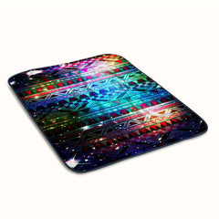 Galaxy Aztec Patern Fleece Blanket