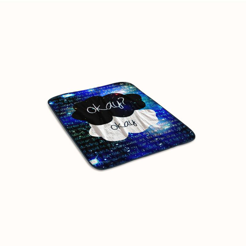 Galaxy The Fault in Our Stars Fleece Blanket