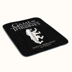 Game of Thrones House Mormont Logo Fleece Blanket
