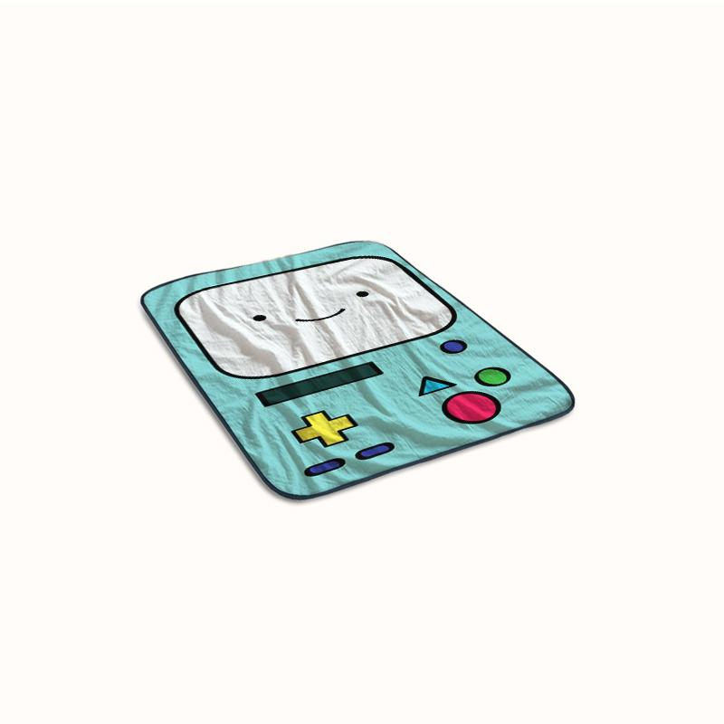 Gameboy Beemo BMO Fleece Blanket