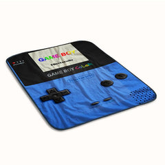 Gameboy Blue Fleece Blanket