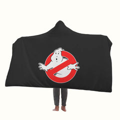 Ghostbusters Logo Hooded Blanket