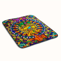 Grateful Dead Dancing Bears Fleece Blanket