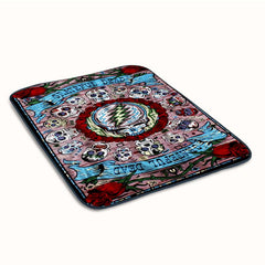 Grateful Dead Poster Fleece Blanket