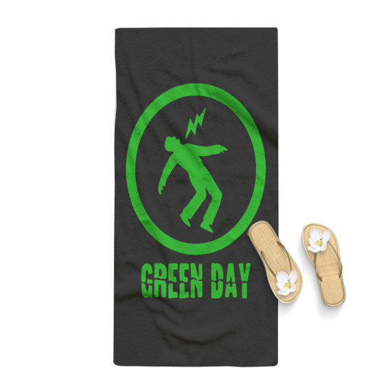 Green Day Logo Towel