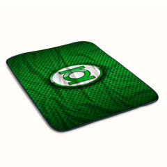 Green Lantern Logo Fleece Blanket