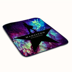 Hamilton American Logo on Galaxy Space 2 Fleece Blanket