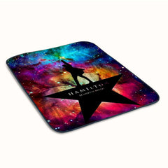 Hamilton American Logo on Galaxy Space 5 Fleece Blanket