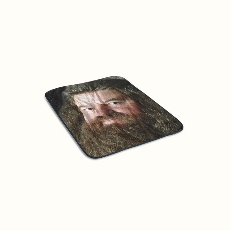 Harry Potters Hagrid Fleece Blanket