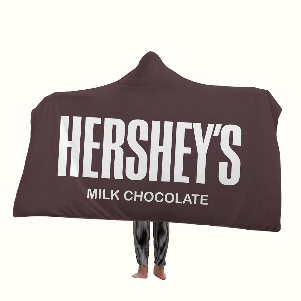 Hersheys Logo Hooded Blanket