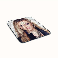 Hilary Duff Hairstyles Fleece Blanket