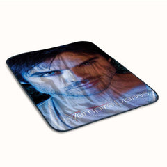 Hot Damon Salvatore The Vampire Diaries Fleece Blanket