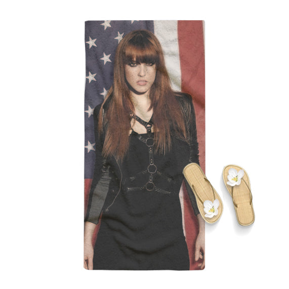 Hot Lzzy Halestorn Rock Band Towel