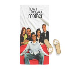 How I Met Your Mother All Character Towel