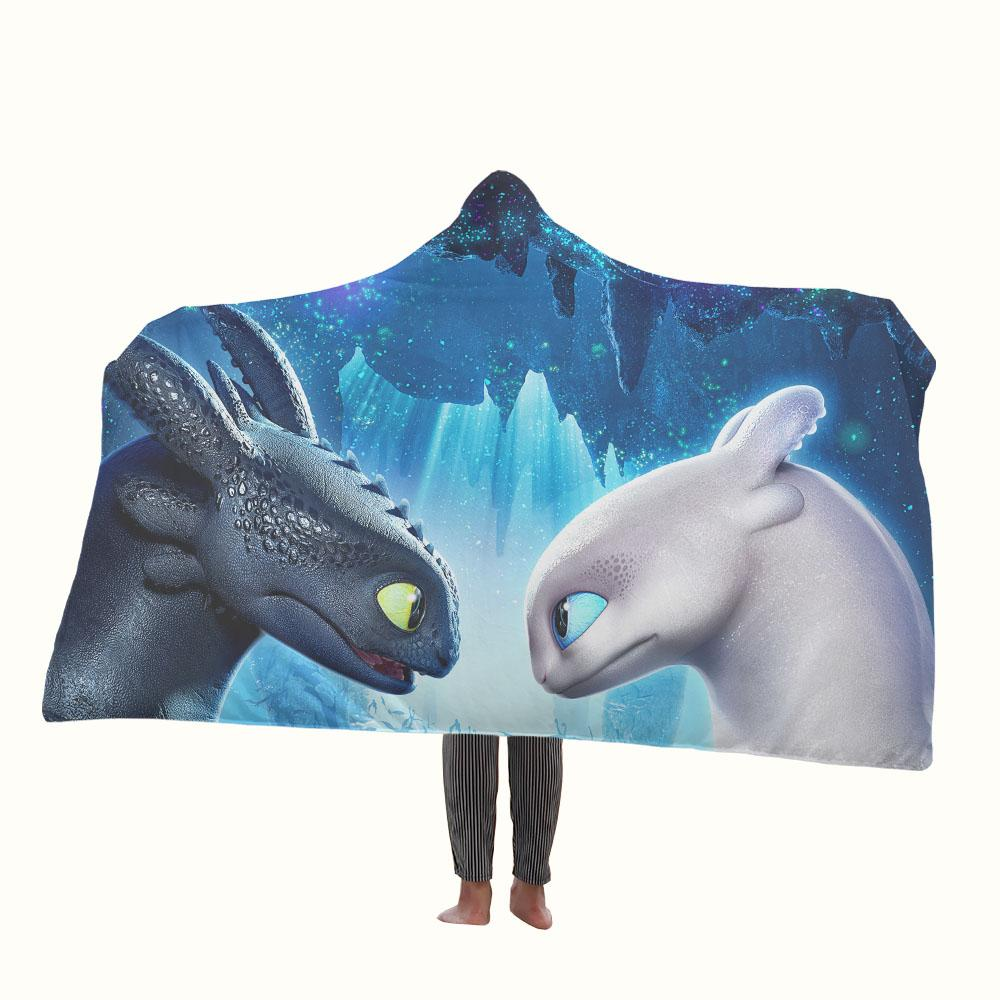 How to Train Your Dragon 3 Hooded Blanket