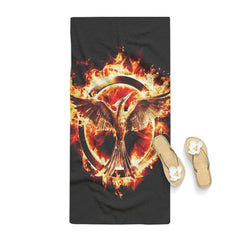 Hunger Games Mockingjay Logo Towel