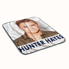 Hunter Hayes Cool Fleece Blanket