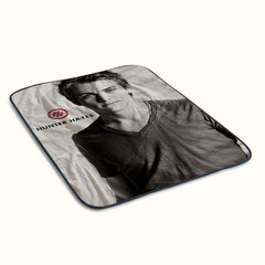 Hunter Hayes Fleece Blanket