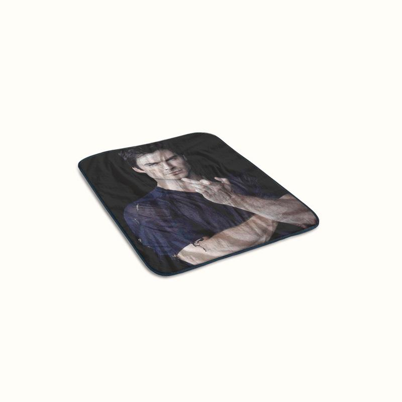Ian Somerhalder The Vampire Diaries Fleece Blanket