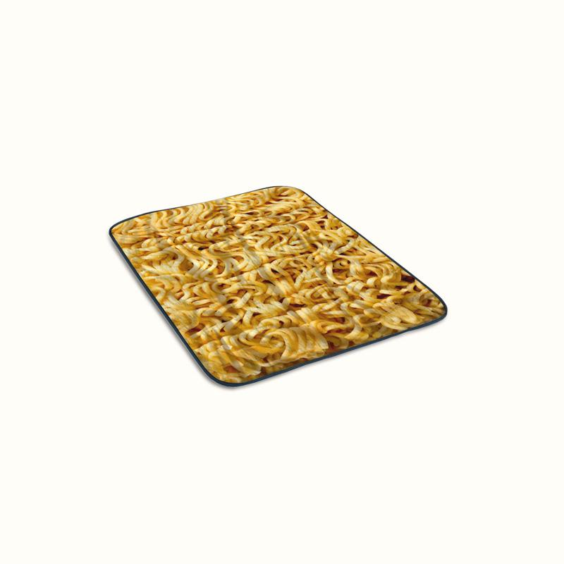 Instant Noodle Fleece Blanket