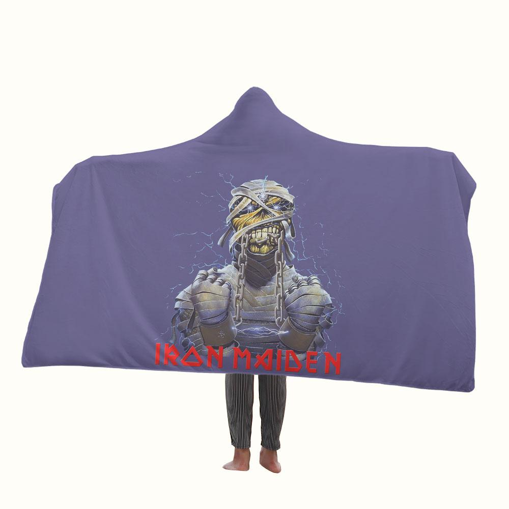 Iron Maiden Hooded Blanket