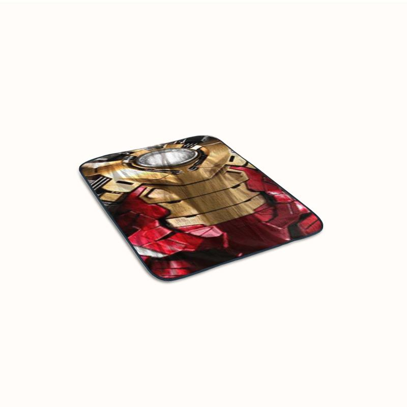 Iron Man XLVII Suit Fleece Blanket