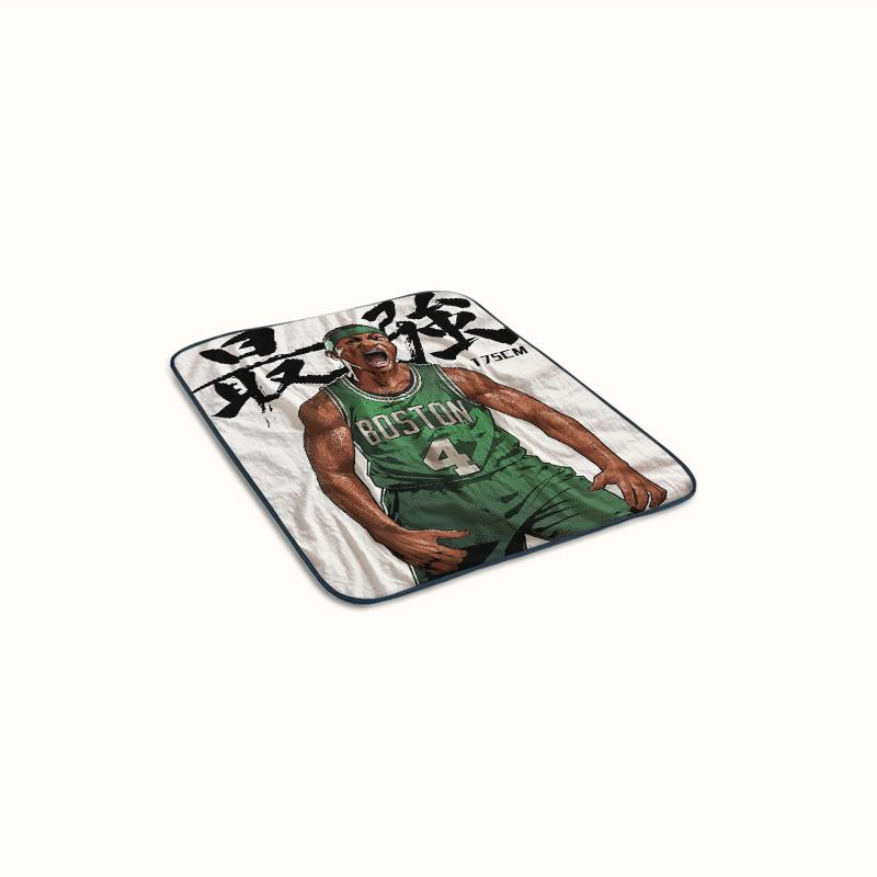 Isaiah Thomas Cartoon Fleece Blanket
