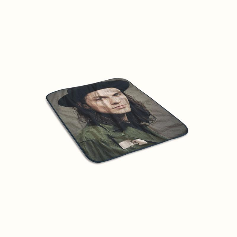 James Bay Hat Fleece Blanket