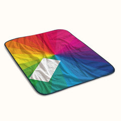 Jamie XX in Colour Fleece Blanket