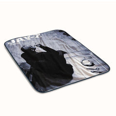 Jay Z Smooking Cover Fleece Blanket