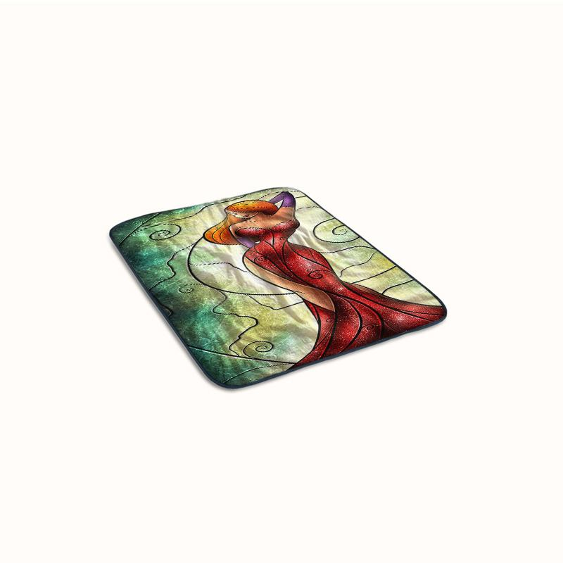 Jessica Rabbit Fleece Blanket