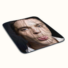 Jim Parsons Funny Face Fleece Blanket