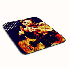 Johnny Cash Fanart Fleece Blanket
