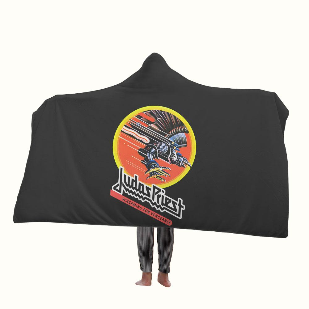 Judas Priest Screaming for Vengeance Hooded Blanket