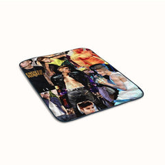Justin Bieber Collage Cover Fleece Blanket
