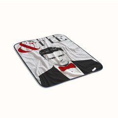 Justin Timberlake Suit and Tie Fleece Blanket