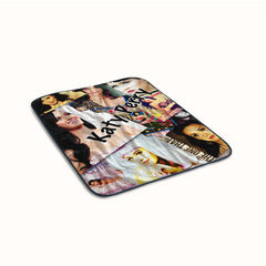 Katy Perry Collage Fanart Fleece Blanket