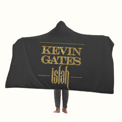 Kevin Gates Islah Logo Hooded Blanket