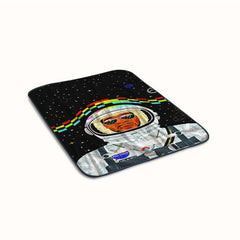 Kid Cudi On Galaxy Fleece Blanket