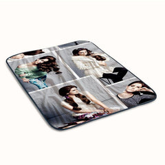 Lana Del Rey Beauty Singer Music love Fleece Blanket