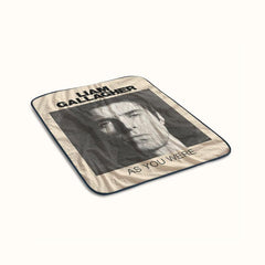 Liam Gallagher As You Were Fleece Blanket