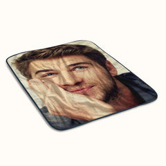 Liam Hemsworth Fleece Blanket