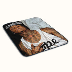 Lil Wayne Fleece Blanket
