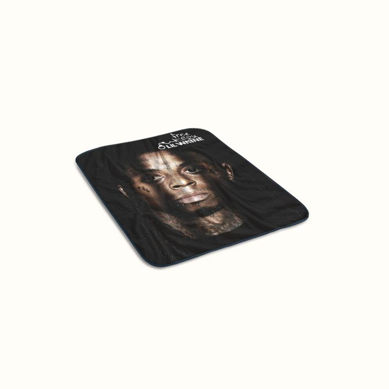 Lil Wayne The Free Weezy Album Fleece Blanket