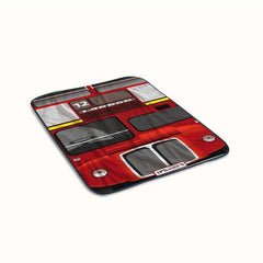 London Bus Paris Fleece Blanket