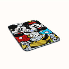 Love Mickey and Minnie Collage Fleece Blanket