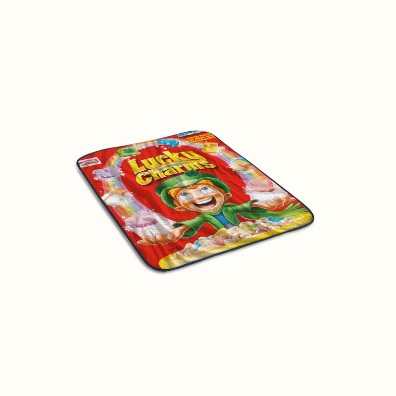 Lucky Charms Fleece Blanket