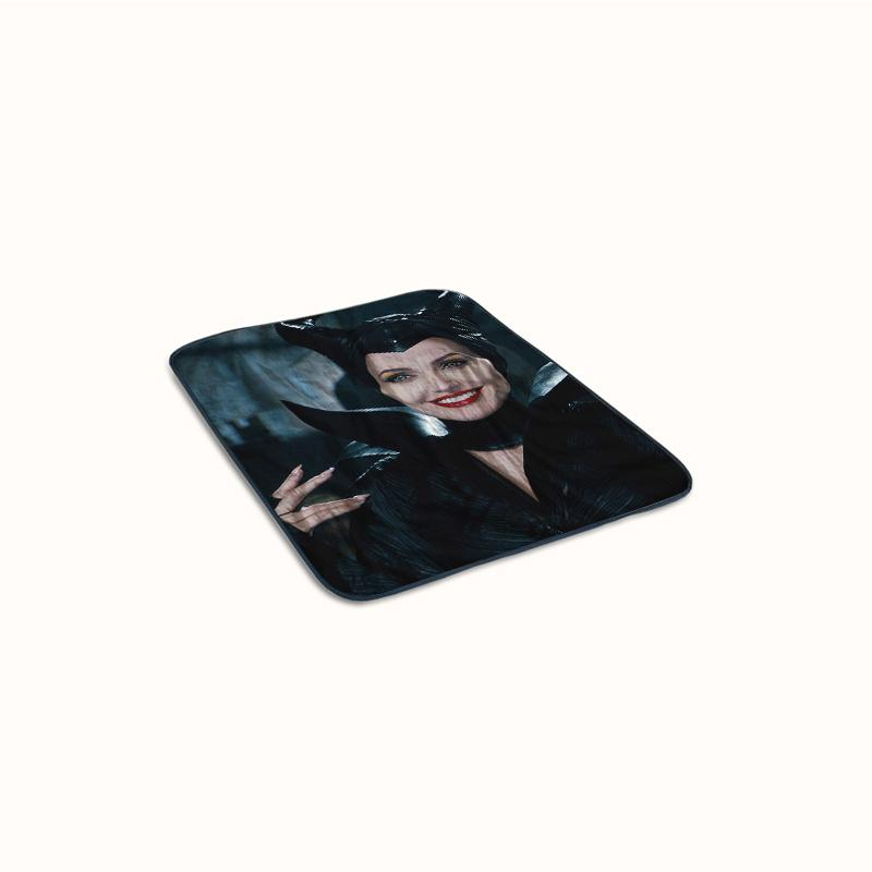 Maleficent Smiling Fleece Blanket
